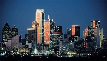 Dallas Skyline Wallpapers Night