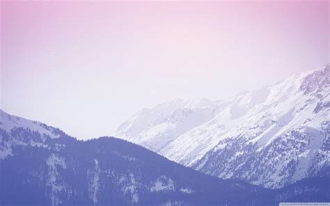 aesthetic snow wallpapers