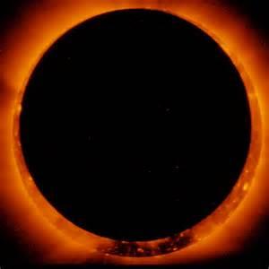 Annular Solar Eclipse NASA