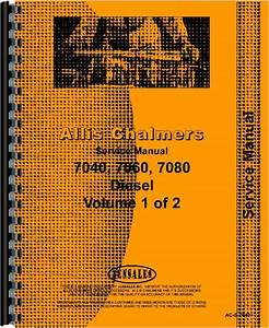 Allis Chalmers 7040 Tractor Service Manual