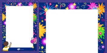 year decorative page border   year border