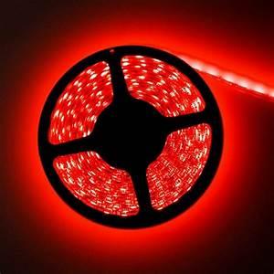 Ruban Led Rouge : ruban led rouge de 2m50 avec interrupteur et alimentation 220v ~ Edinachiropracticcenter.com Idées de Décoration