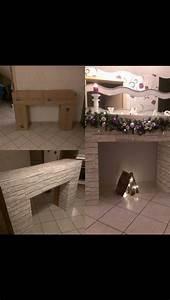 Kamin Raumteiler Selber Bauen : kamin steinoptik pappkartons livingroom inspiration pinterest weihnachten pappkarton und ~ Markanthonyermac.com Haus und Dekorationen