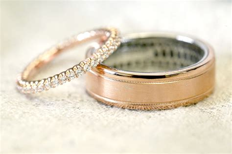 rose gold engagement rings wedding rings todaycom