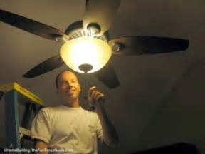 Ceiling Fan Wobbles A Bit by How To Choose And Install A Ceiling Fan The Homebuilding
