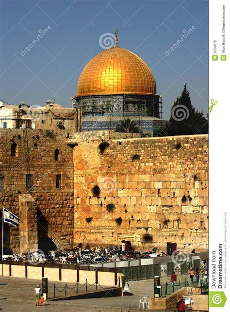 western wall jerusalem  israel royalty  stock
