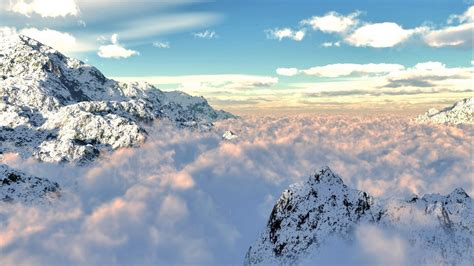 Mountain View above Cloud Wallpaper   HD Wallpapers