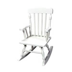 kids colonial rocking chair white target