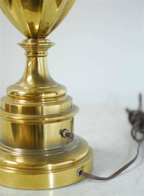 stiffel table l models pair of stiffel brass trophy urn table ls at 1stdibs