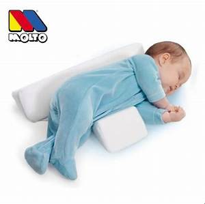 wholesale infant pillow molto anti roll baby sleep With cheap baby pillows