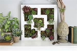 Mur Végétal Intérieur Ikea : ikea lack table hack to succulent vertical garden ~ Dailycaller-alerts.com Idées de Décoration