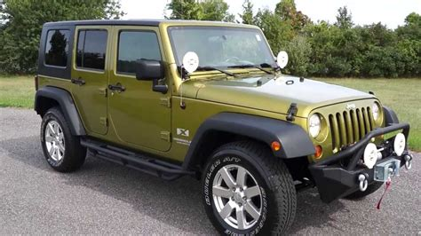 2008 Jeep Wrangler X Unlimited For Sale~auto~hella Fogs
