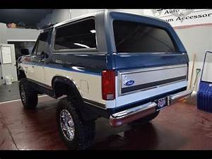 1986 Ford Bronco Xlt 2dr 32 150 Miles Blue  White 5 0l V8