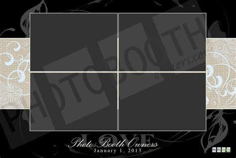photo booth templates free friday photo booth template giveaway week 1 photo booth owners