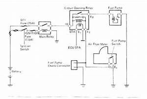2000 Toyota Tacoma Fuel Pump Relay Location