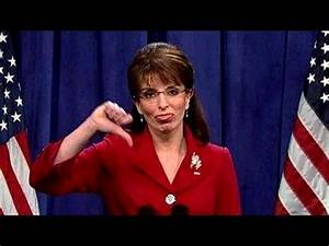 Tina Fey Returns as Sarah Palin - YouTube
