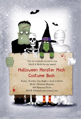 Biglietti di Invito per Feste di Halloween da Creare e
