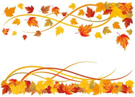 Fall Leaves Border  Clipart Best