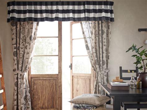 cantonniere pour cuisine 30 idées pour habiller vos fenêtres décoration