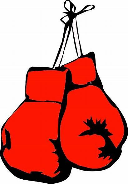 Boxing Gloves Clip Clipart Vector Clker