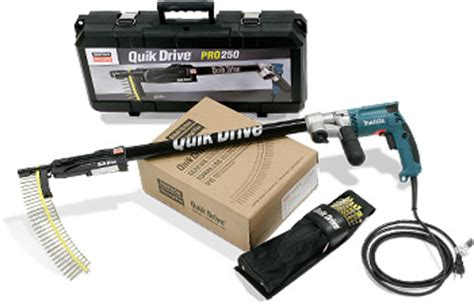 decking gun stand up quik drive 174 auto feed driving systems