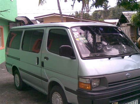 Subic Cars For Sale by Toyota Hi Ace Local Not Subic For Sale From Manila