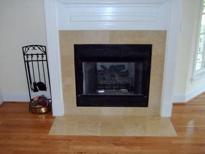 install  fireplace surround  tile  stone veneer