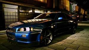 Nissan, Nissan, Skyline, Gt, R, R34, Car, Wallpapers, Hd