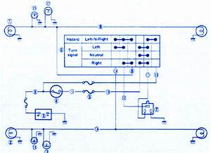 Suzuki Vx800 1990 Electrical Circuit Wiring Diagram