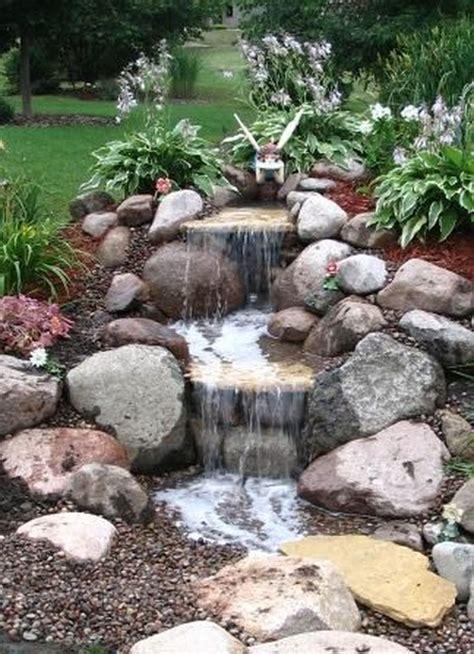 small waterfalls backyard small waterfall pond landscaping for backyard decor ideas 98 decomg