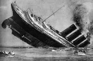 in pictures the lusitania disaster that helped draw the usa into ww1 telegraph
