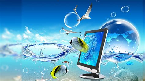 Animated Fish Wallpaper For Pc - cool animated 3d fish hd wallpaper 23520 wallpaper cool