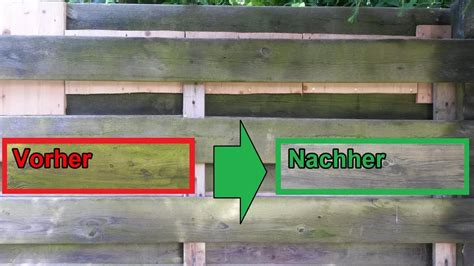 Grünspan Entfernen Hausmittel by Gr 252 Nspan Holz Zaun Terrasse Mit Hausmittel M 252 Helos