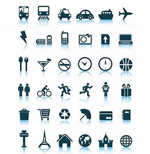 36 travel icon set vector pack - Free Vector Site ...