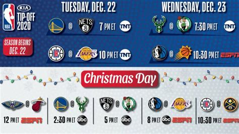 NBA releases National TV schedule for opening night ...