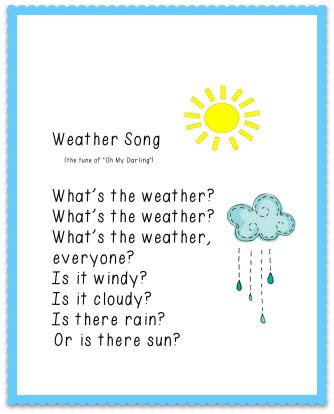 printables pmld preschool weather circle time songs