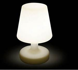 Lampe D Extérieur : de table ext rieur int rieur led blanche sans fil rechargeable ~ Teatrodelosmanantiales.com Idées de Décoration