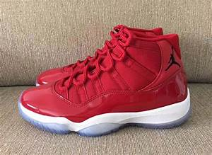 "Air Jordan 11 ""Red"" Melo PE Holiday 2017 - JustFreshKicks"