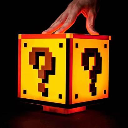 Mario Question Block Bros Lamp Inspired Reddit