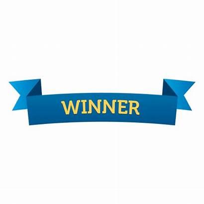 Winner Badge Ribbon Transparent Word Association Vector