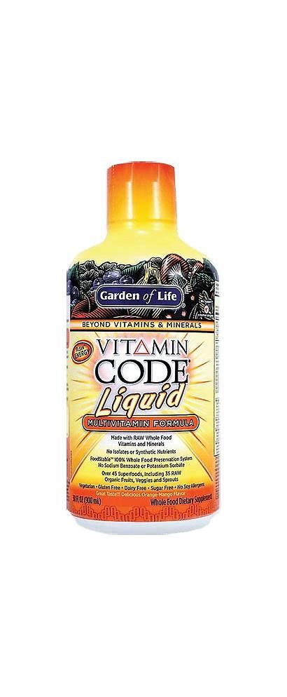 Liquid Multivitamin Vitamin Garden Code Formula
