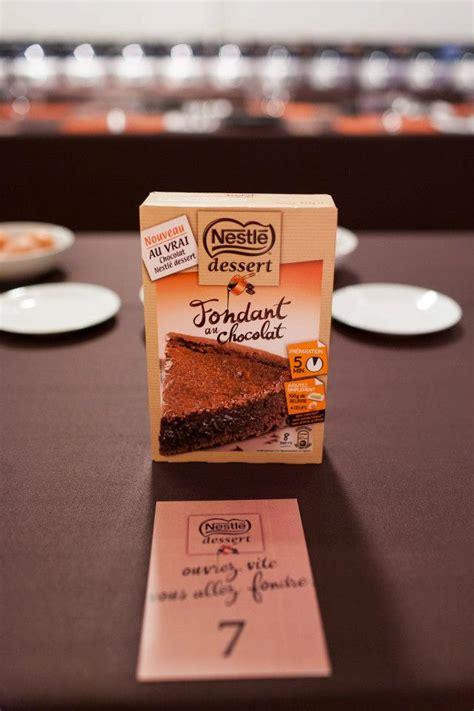 recette fondant au chocolat nestl 233 dessert