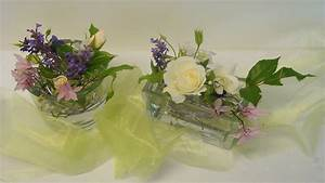 Tischgestecke Selber Machen : tischdeko f r die hochzeit selber machen deko ideen mit flora shop youtube ~ Frokenaadalensverden.com Haus und Dekorationen