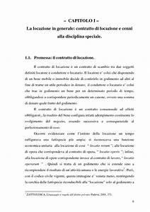 Il contratto di locazione Ł un contratto di scambio tra due soggetti definiti locatore e