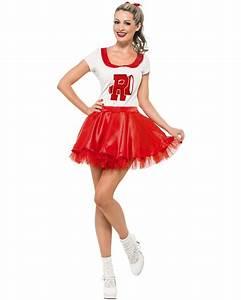 Grease Sandy Cheerleader Costume | THEMES