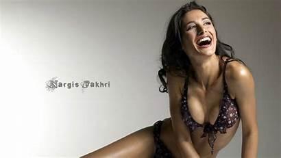 Bikini Fakhri Nargis Wallpapers Photoshoot Screen Wide