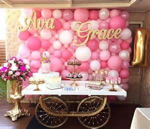 Pink Balloons Decoration Backdrop
