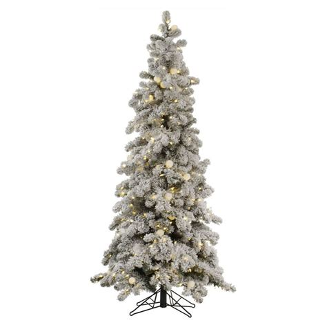 flocked christmas trees buy flocked christmas tree online santa s site