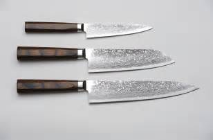 kitchen knives r4 damascus 3 set paring knife santoku knife and chef s knife unique japan