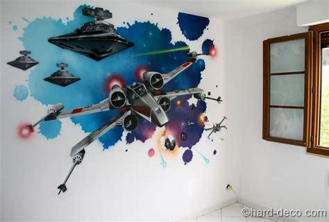 wars decoration chambre décors wars yoda vador dans une chambre d 39 ado